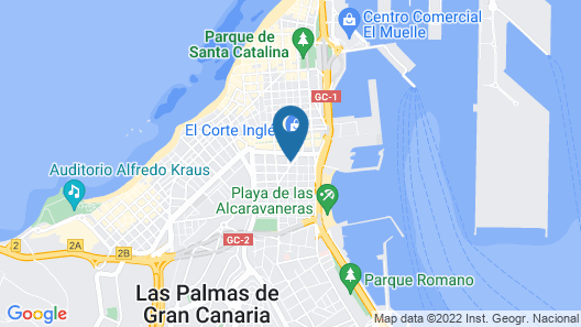 City Room Las Palmas Map