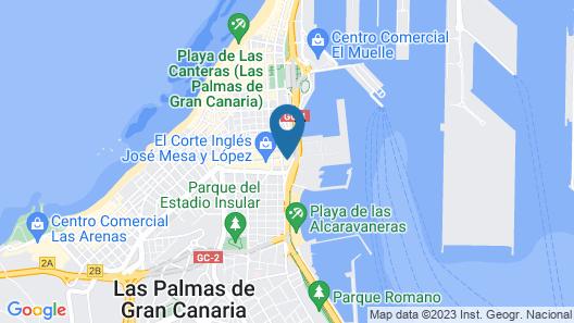 Casa Alcaravaneras Map