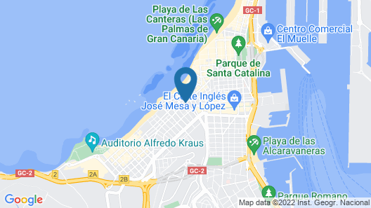 Bull Astoria Map
