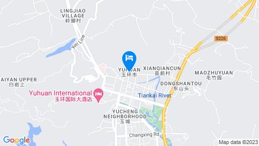 Yunshang Xiling Boutique Inn Map