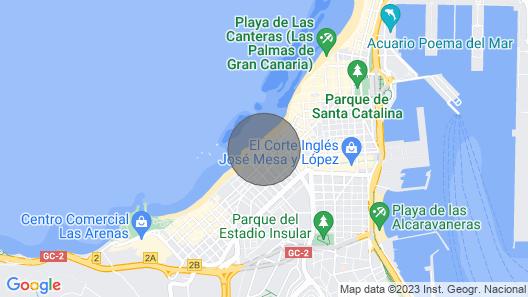Bello Horizonte, un Hogar con Vistas al mar Map