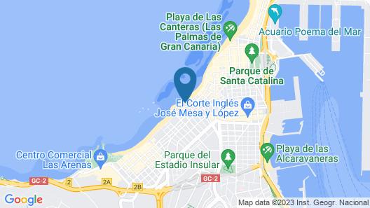 Las Canteras 81 Map