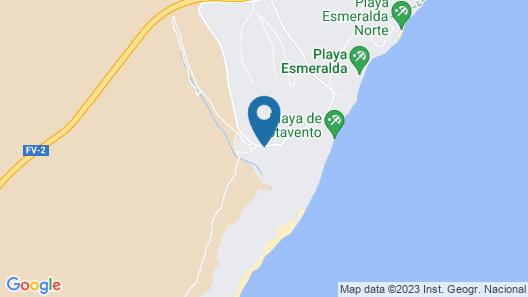 Melia Fuerteventura Map