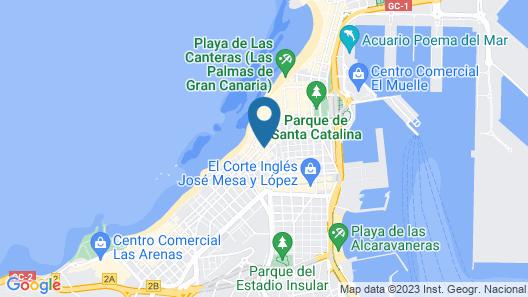 Hotel Olympia Map