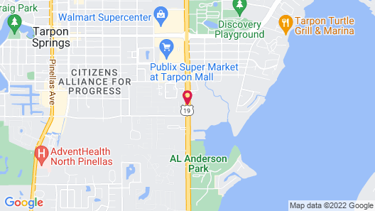 Tarpon Shores Inn Map