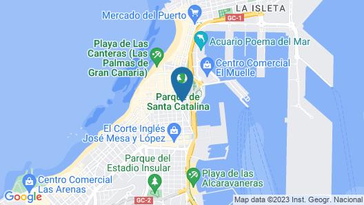 Design Plus Bex Hotel Map