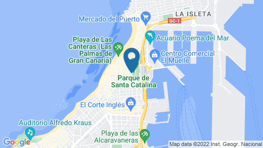 Bed&Chic Las Palmas Map