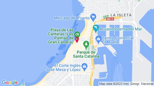 Bull Reina Isabel & Spa Map