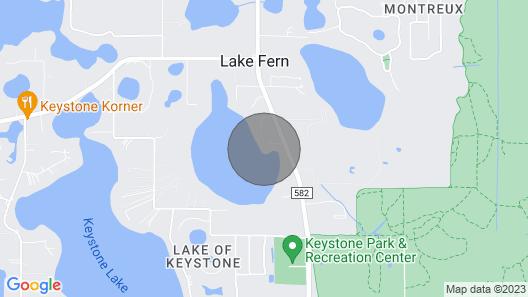 Stunning Lake / Waterfront Oasis Near Tampa/orlando & Gulf Beaches Map
