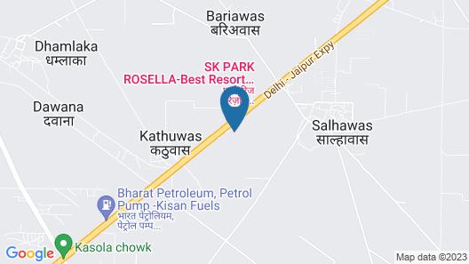 Park Ridge Resort Map