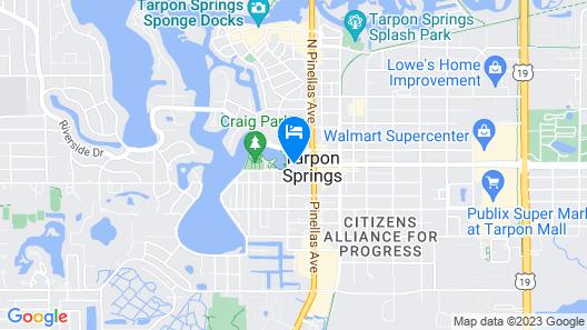 Tarpon Inn Map