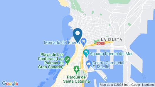 NH Imperial Playa Map