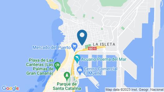 Cordial Vista Acuario Map