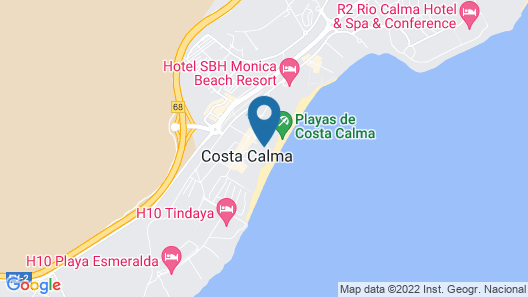R2 Maryvent Beach Apartaments Map