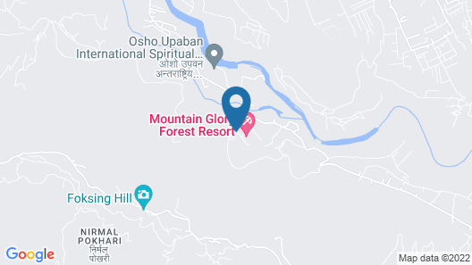 Mountain Glory Forest Resort Map