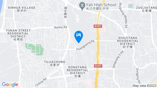 Kempinski Hotel Changsha Map