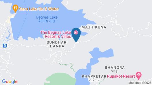 The Begnas Lake Resort & Villas Map