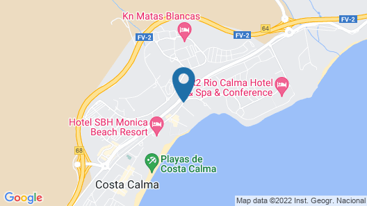 SBH Fuerteventura Playa - All Inclusive Map