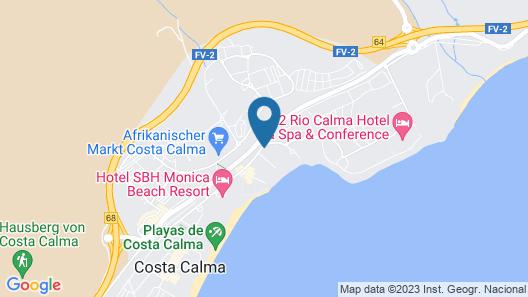SBH Fuerteventura Playa Map