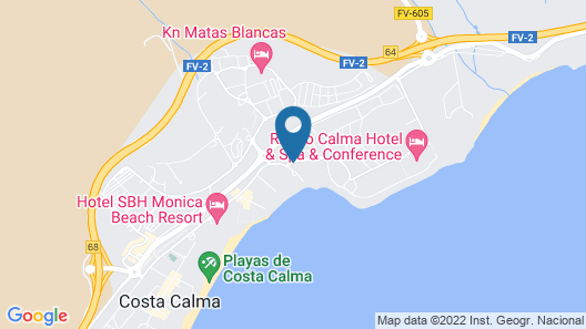 SBH Costa Calma Beach Resort - All Inclusive Map