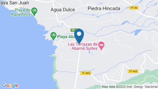 Las Terrazas de Abama Map