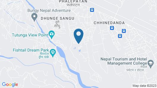Fulbari Resort Map