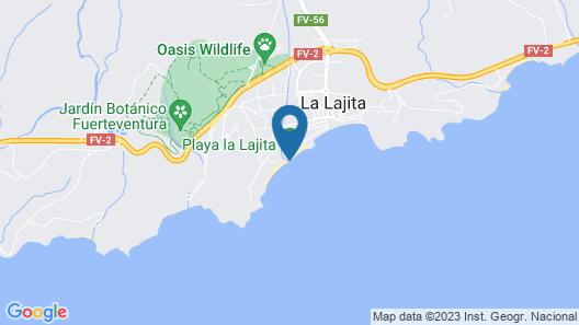 Los Reyes Viento del Mar, 100% Direkt am Meer Map