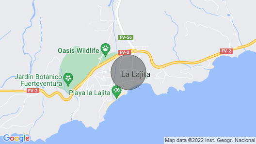 The Mirador La Lajita Map