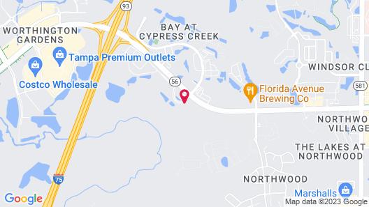 Hilton Garden Inn Tampa-Wesley Chapel Map