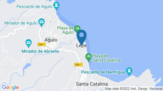 Villa Delfines - Adults Only Map