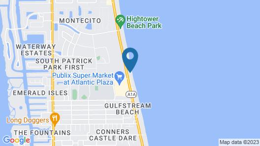 Paradise Beach Club - Stay in Cocoa Beach Map