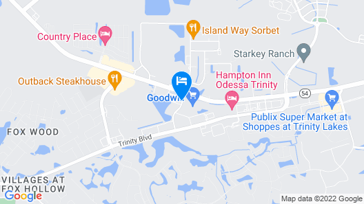Holiday Inn Express & Suites Trinity, an IHG Hotel Map