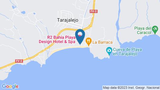 R2 Bahía Playa Design Hotel & Spa Wellness - Adults Only Map
