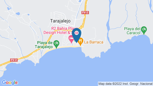 Fuerte Holiday Tarajalejo Dreamer Map