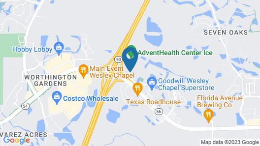 Hampton Inn & Suites Tampa-Wesley Chapel Map