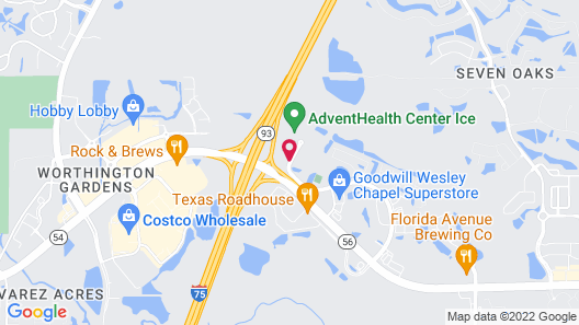 Holiday Inn Express & Suites Tampa North - Wesley Chapel, an IHG Hotel Map