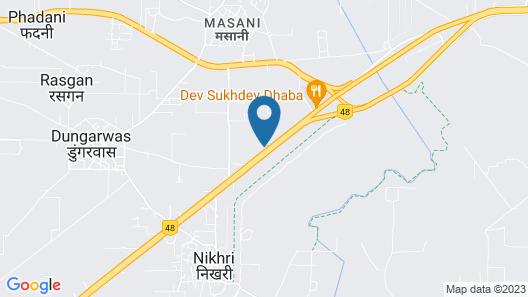 OYO 3179 Heritage Haveli Map