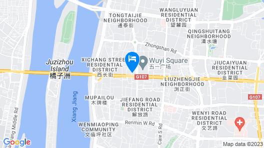 Hotel Changsha Downtown Map