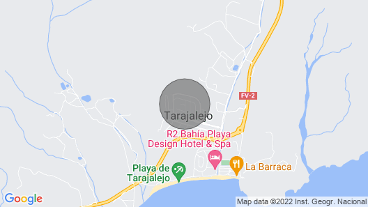 Holiday Apartment in Tarajalejo Map