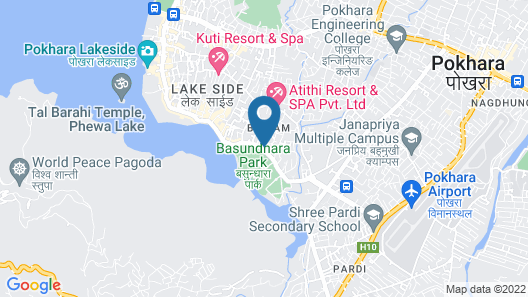 Dahlia Boutique Hotel Map
