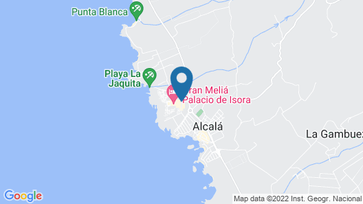 Gran Melia Palacio de Isora Map
