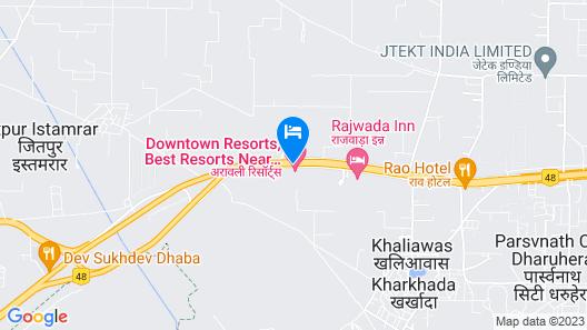 Aravali Resorts Map