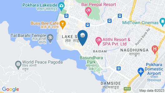 Elegant Guest House Map