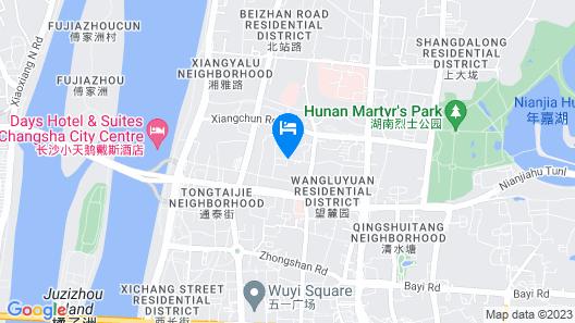 Sheraton Changsha Hotel Map