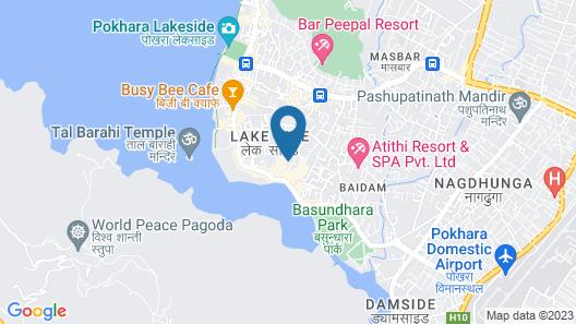 Hotel Center lake Map