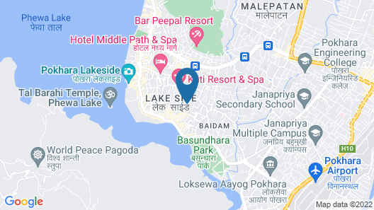 Hotel Orchid Map
