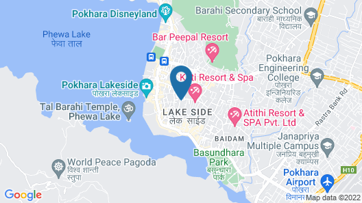 Bodhi Suites Boutique Hotel and Spa Map
