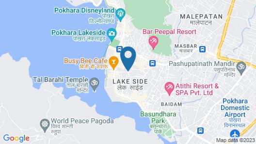 Vardan Resort n' Apartment Map