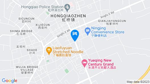 Grand New Century Hotel Wenzhou Sanyu Map