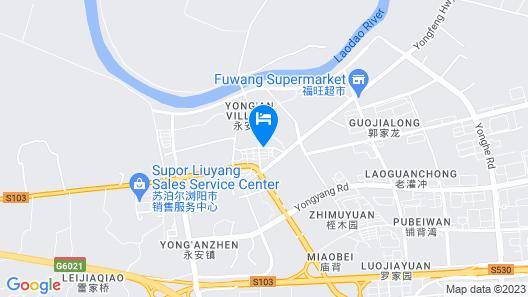 Holiday Inn Express Liuyang Development Zone, an IHG Hotel Map